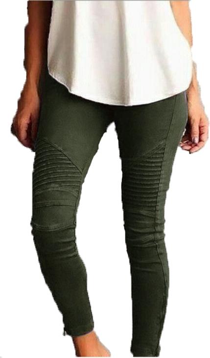 Leggings med fickor fram i 3 färger