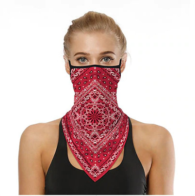 Munskydd Ansiktsscarf Bandanna Baklava Tvättbar