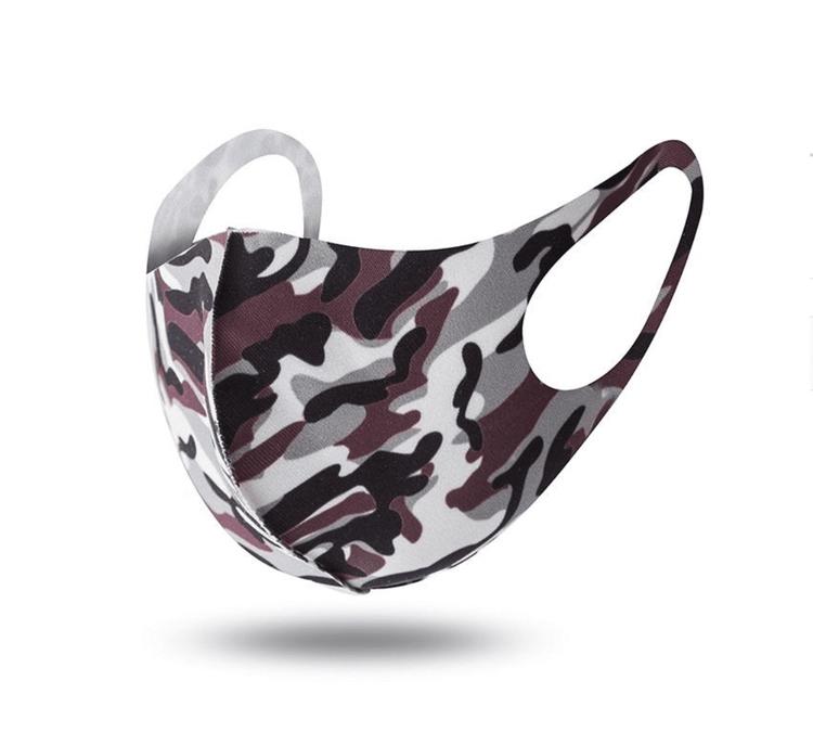 Tvättbara Munskydd i bekväm design Camouflage