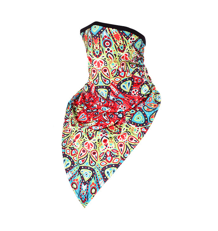 Munskydd Ansiktsscarf Bandana Baklava Tvättbar Mandala