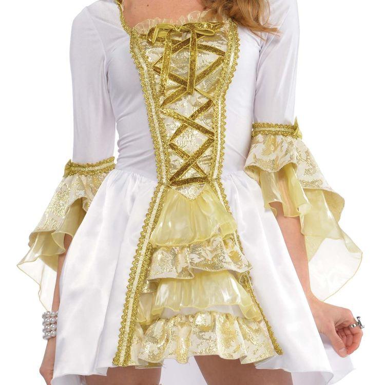 1800-tal sexig klänning Venezia