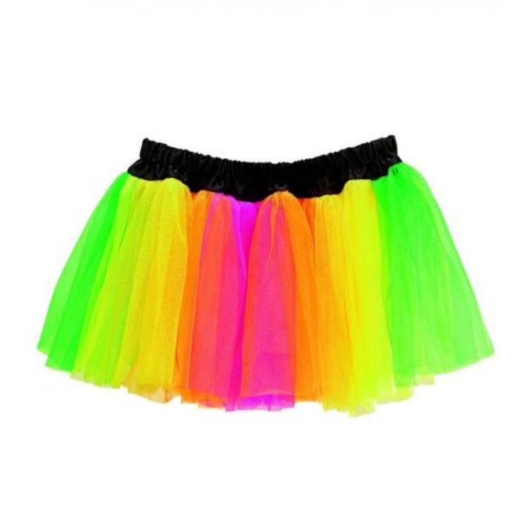 Färgad kjol Tutukjol