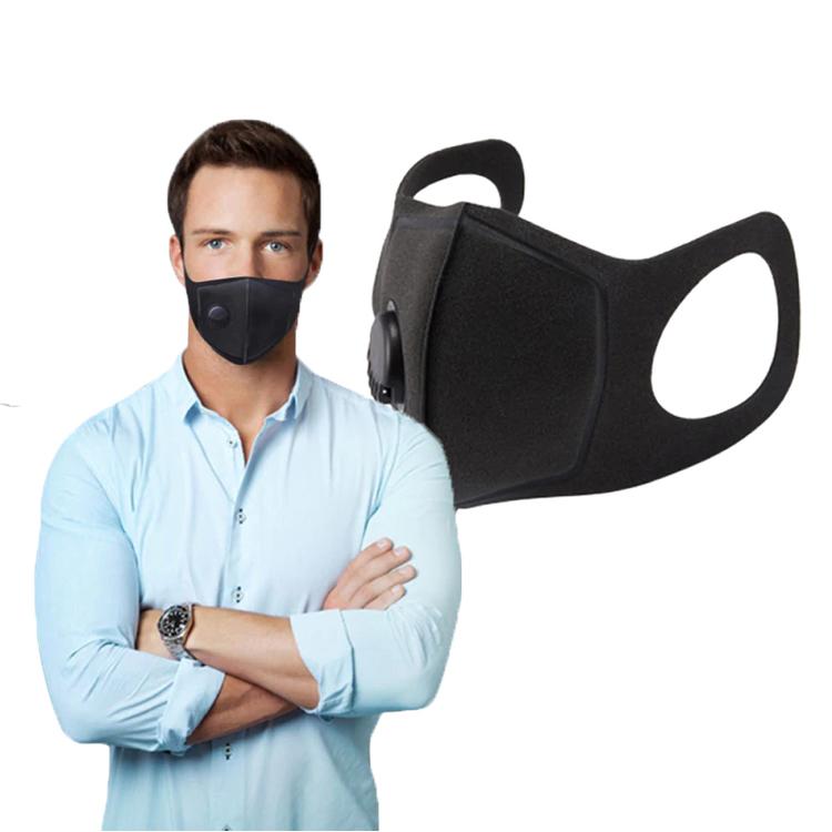 Tvättbara Munskydd med ventil 10-pack