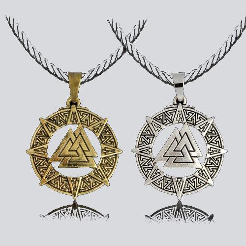 Warrior Vikings Necklace Halsband