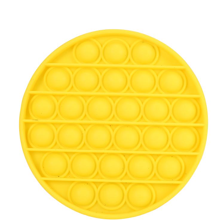 Pop It Fidget Toy Rund CE Godkänd