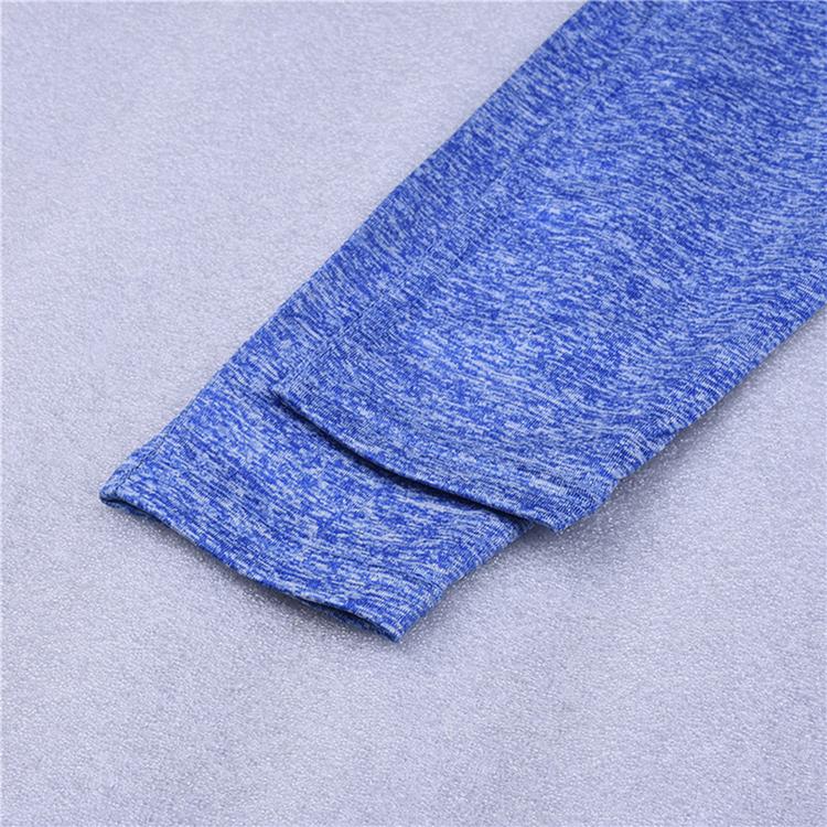 Blå Träningsleggings