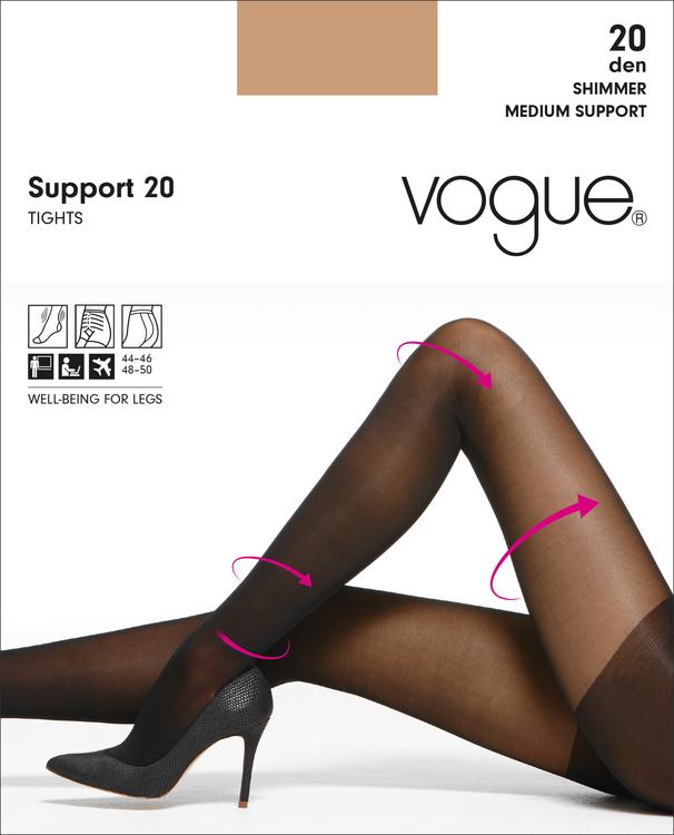 Vogue Support 20 den strumpbyxa