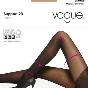 Vogue Support 20 den strumpbyxa