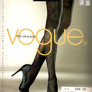Vogue Mirage Strumpbyxa 30 den Black 44-48