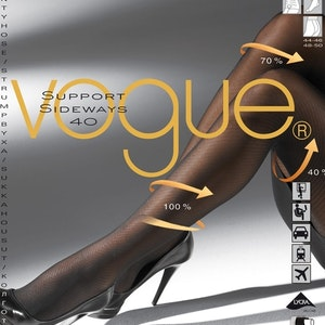 Vogue Strumpbyxa Stone Grey 36-38