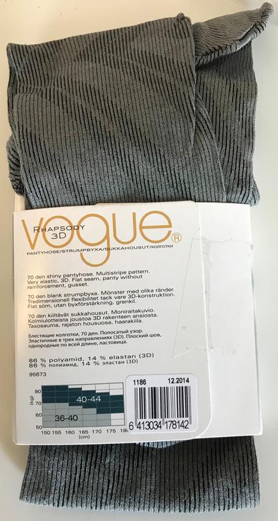 Vogue Rhapsody 3D 70 den Stone Grey 36-40