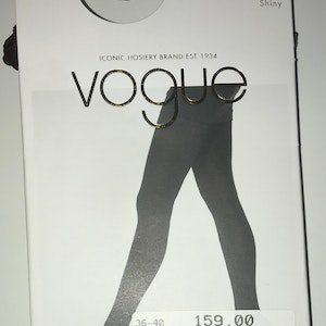 Vogue Opaque Brilliante 3D Bordeaux 36-40