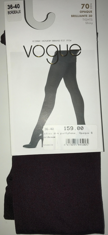 Vogue Opaque Brilliante 3D Bordeaux 36-40