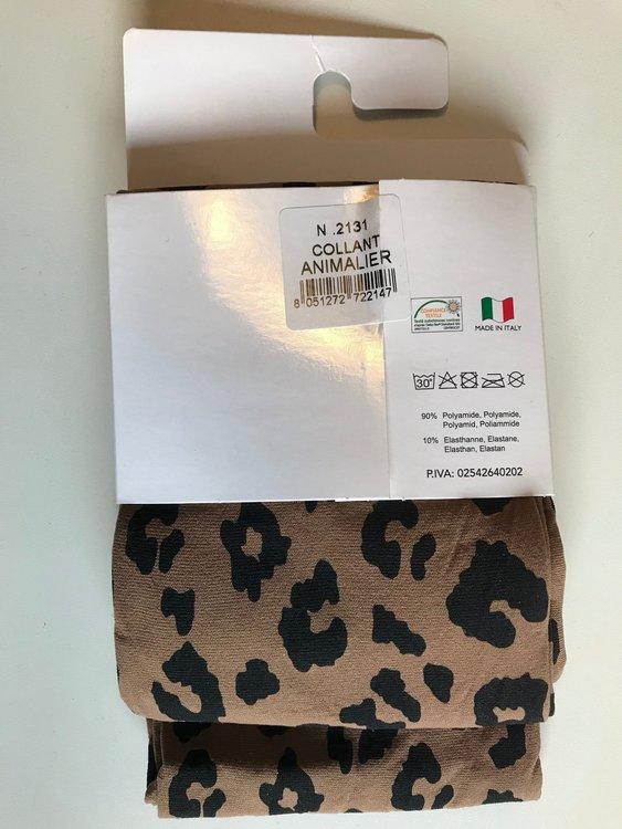 GI&GI Strumpbyxa Leopard S/M