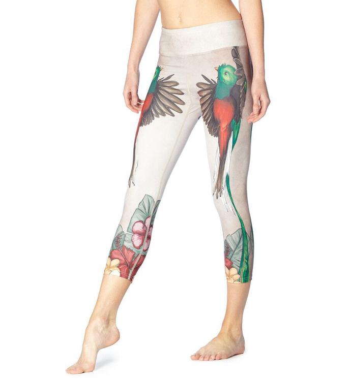 Loving Bird Yoga Capri Leggings