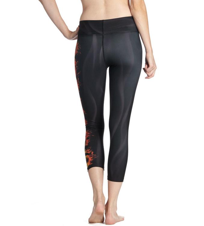 One Love Yoga Capri Leggings