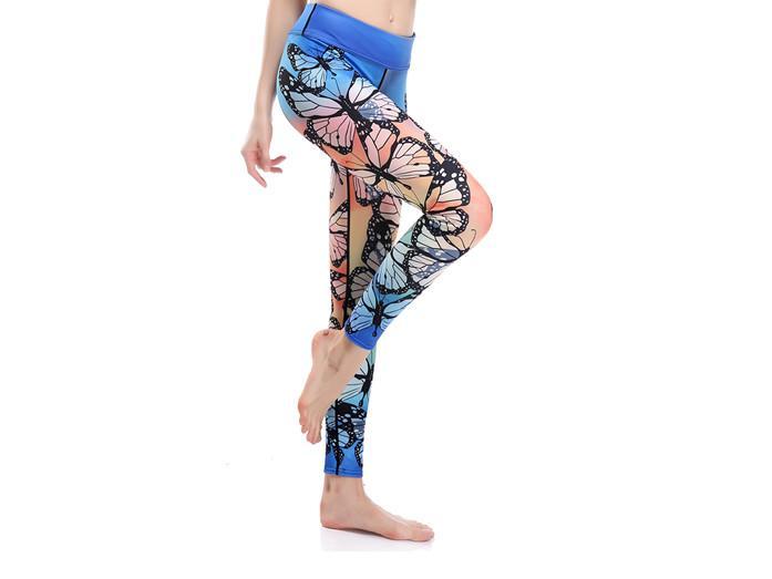 Graceful Butterfly Yoga Leggings