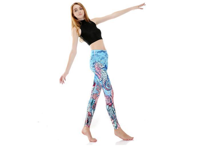 Sjöhäst Yoga Leggings