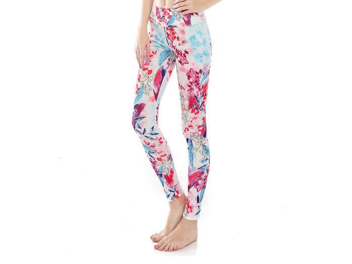 Cherry Blossom Yoga Leggings