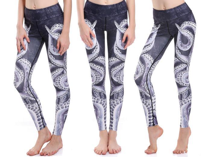 Tentakler Yoga Leggings