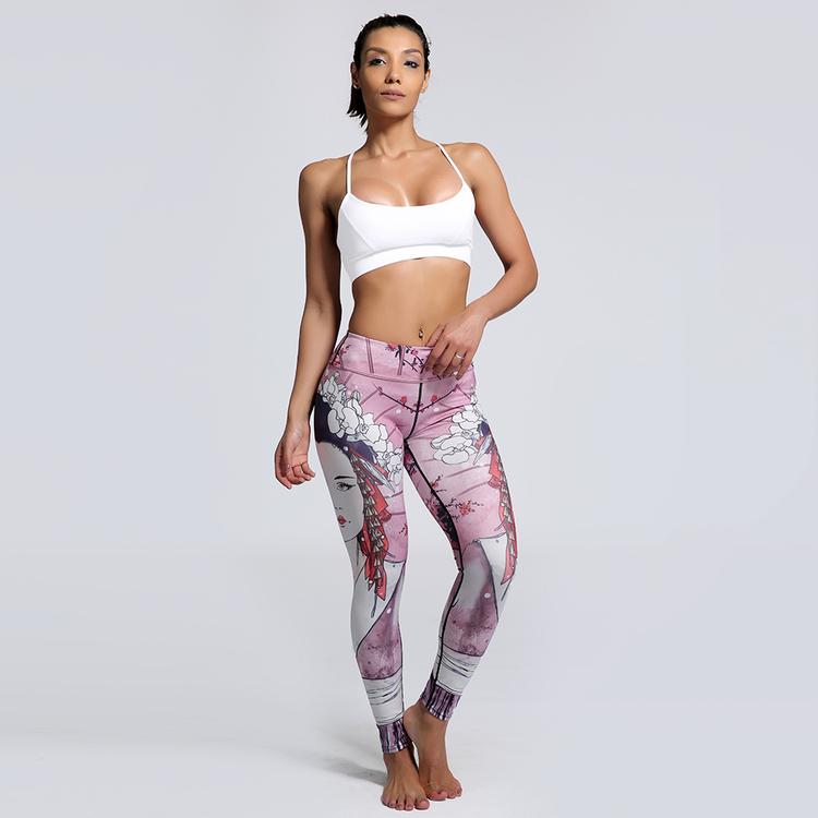 Pink Pirate Yoga Leggings