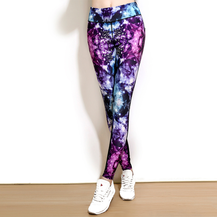 Bliss Galaxy Yoga Leggings
