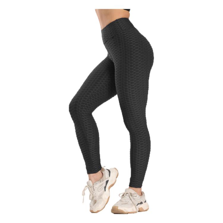 Svarta Leggings med mönster Tie Dye