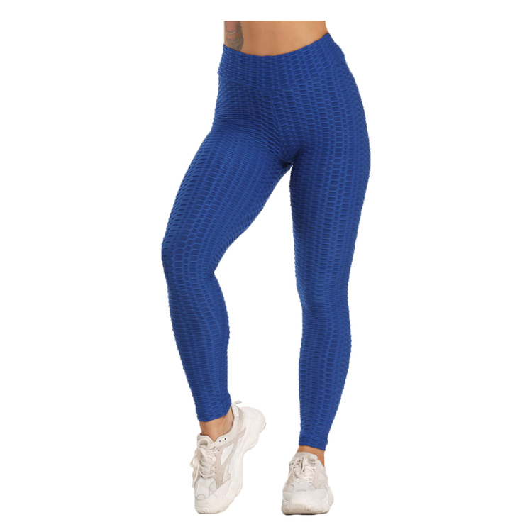 Blå Leggings med mönster Tie Dye