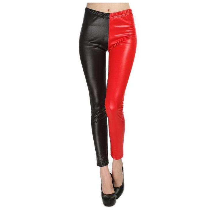 Faux Leather Fuskskinn Leggings i 2 färger