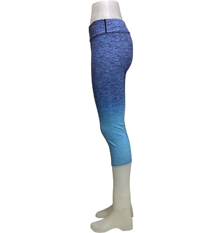 Blå Capri Leggings