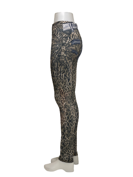 Fodrade Vinter Jeans Leggings