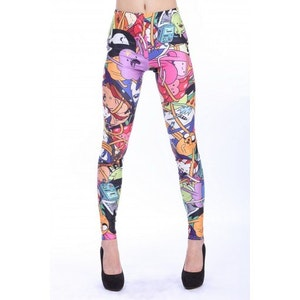 Cartoon AD Leggings