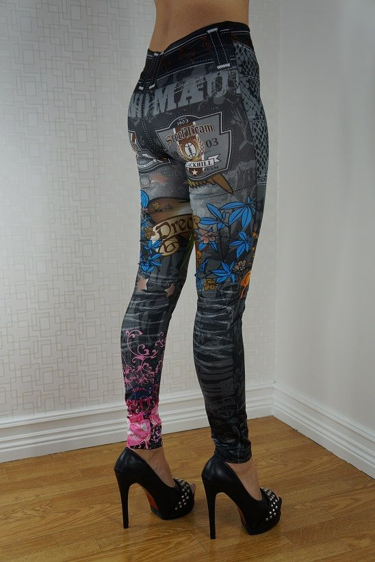 DREAM JEANS PRINT LEGGINGS