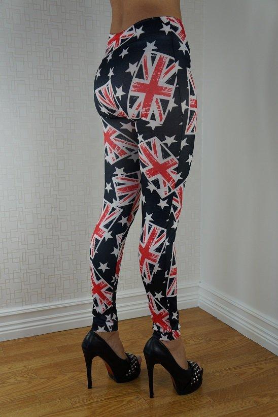 UK FLAGS LEGGINGS