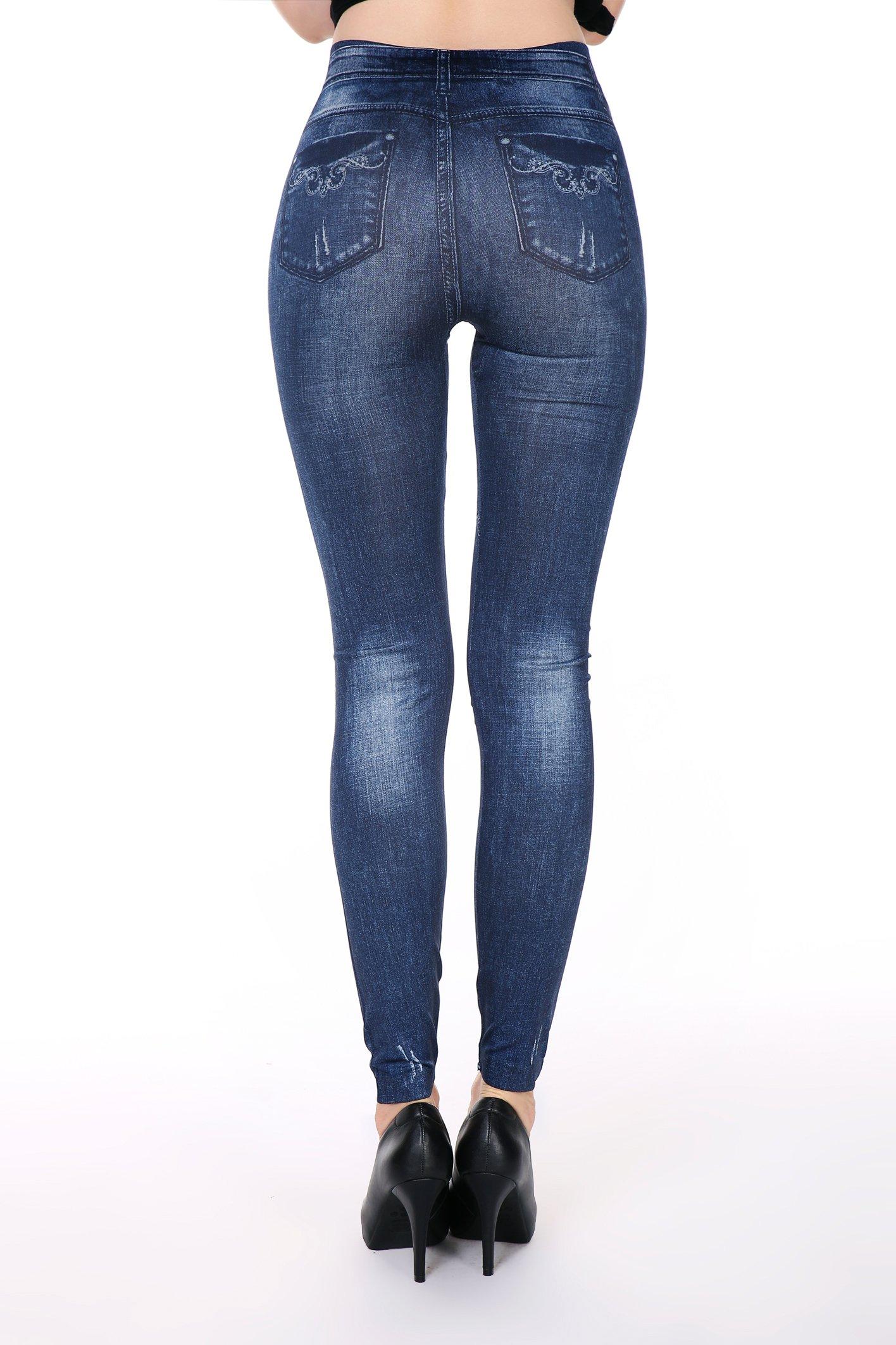 Blue Heart Leggings