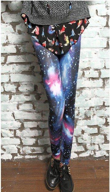 Galaxy Blue Leggings