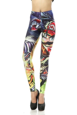Super Mario Bros Leggings