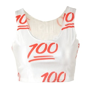 100 Reversible Crop Tops