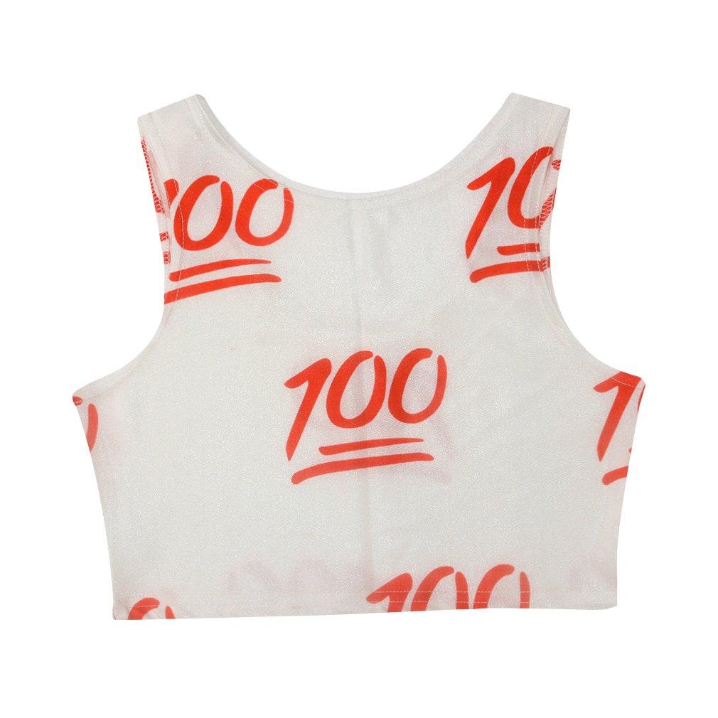 100 Reversible Crop Tops