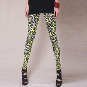 Yellow Fluorescent Leggings