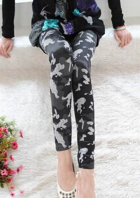Camouflage Arme Leggings