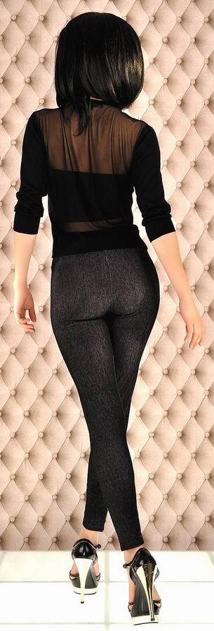 Black denim jeans leggings jeggings