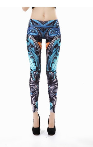 Machine Bones Leggings