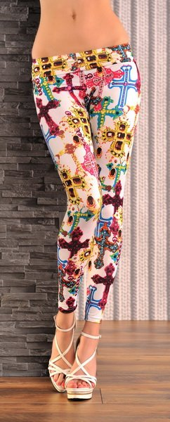 COLOR CROSS LEGGINGS