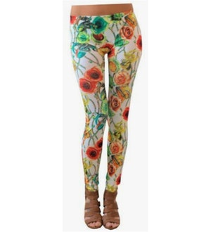 Flower & Snake Leggings