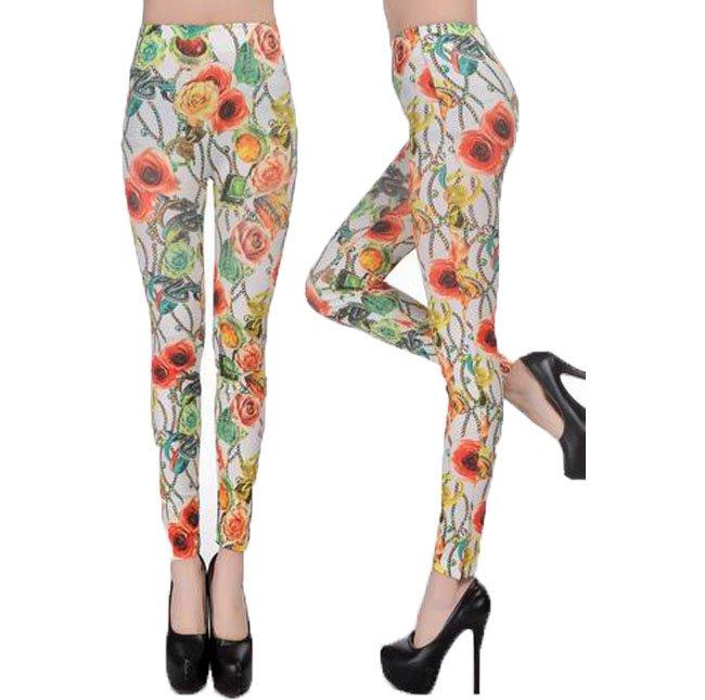 Flower & Snake Leggings