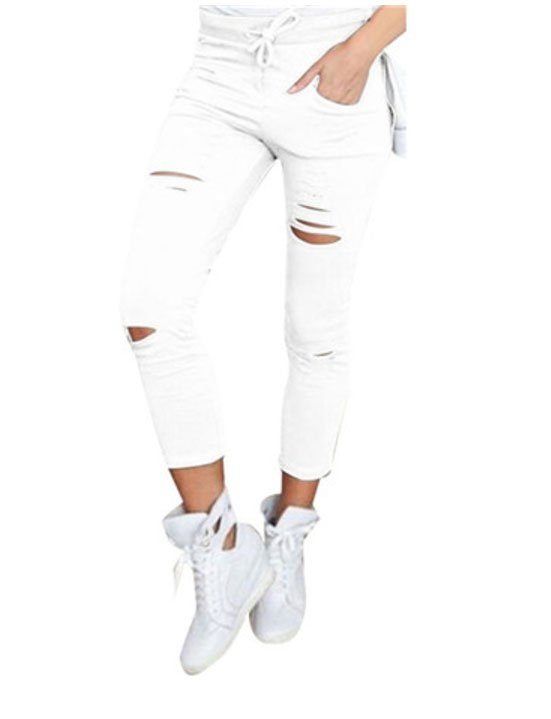 Jeans Leggings Stretch Jeggings Vit