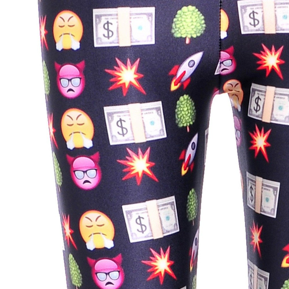 Emoji och Money Leggings