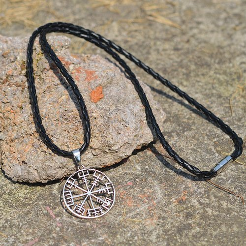 Hot Pirate Compass Vikings Necklace
