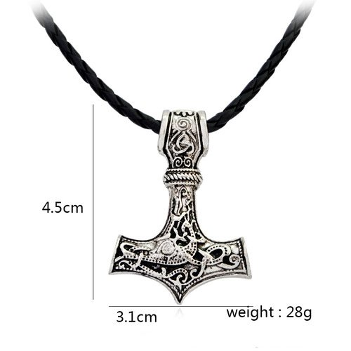 Raytheon Hammer Mjolnir Necklace